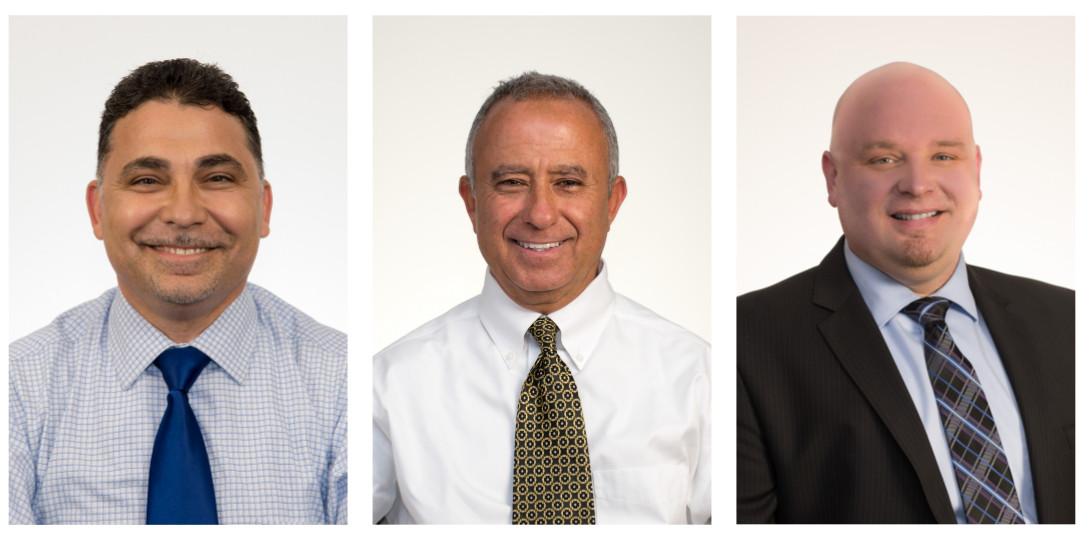 Hassan Slim, Driss Hilili, and John Tanner