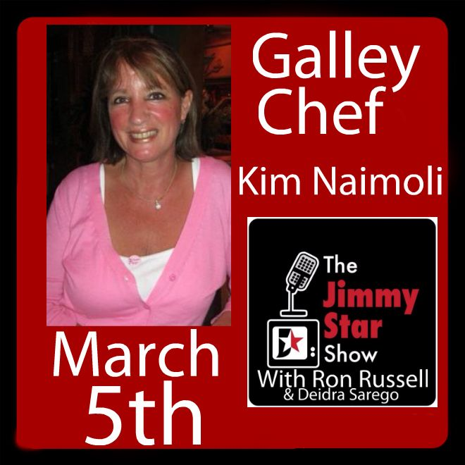 Galley Chef Kim Naimoli on The Jimmy Star Show
