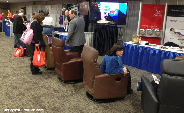 LifeStyles Furniture Booth