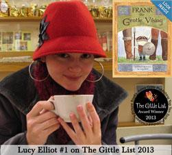 Lucy Elliott's Frank the Gentle Viking earns the #1 spot The Gittle LIst 2013
