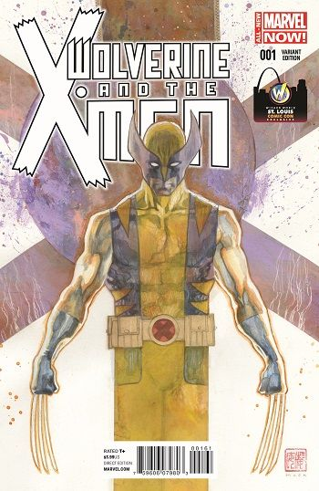 Wolverine And The X-Men #1 cover by David Mack