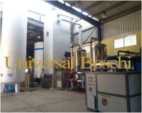 Liquid oxygen plants