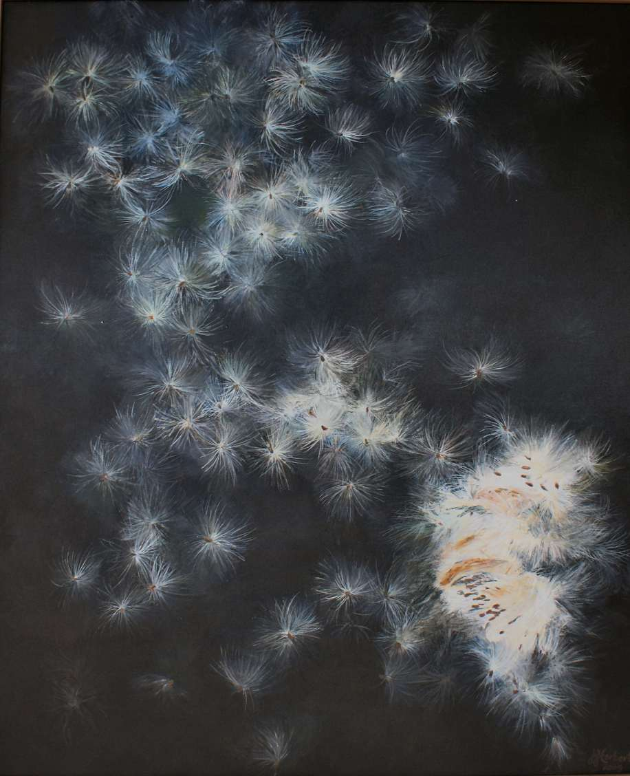 Jane Herbert, 'The Milky Way,' Acrylic-on-Canvas