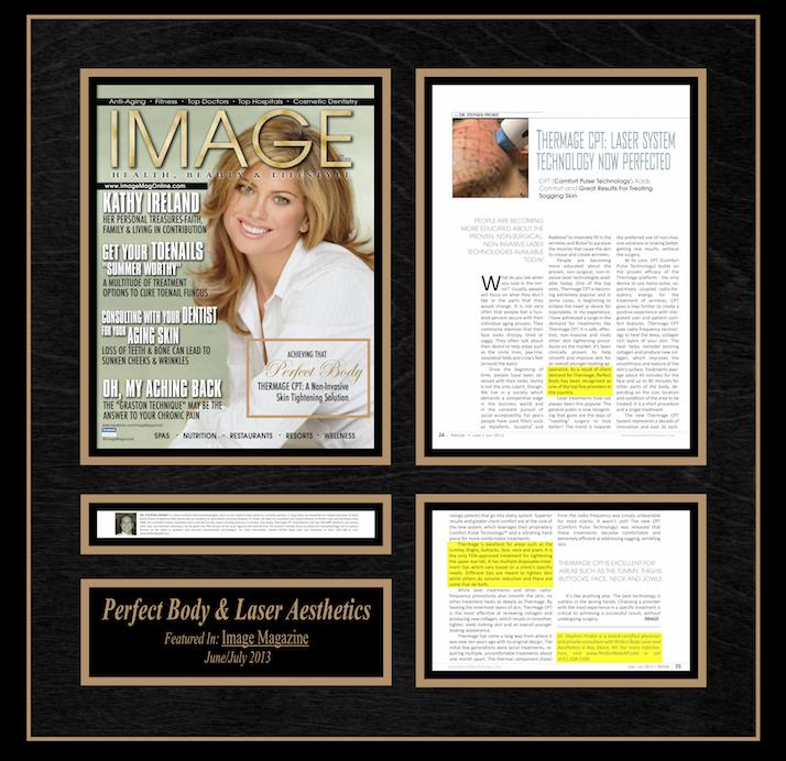 Perfect Body Laser & Aesthetics featured in Image Magazine