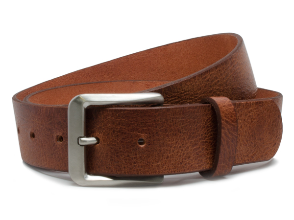 Nickel Free Mt. Pisgah Casual Titanium Belt - Russet