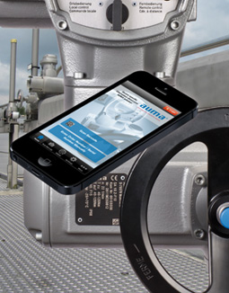 A new smartphone App from AUMA gives easy download access to actuator documents
