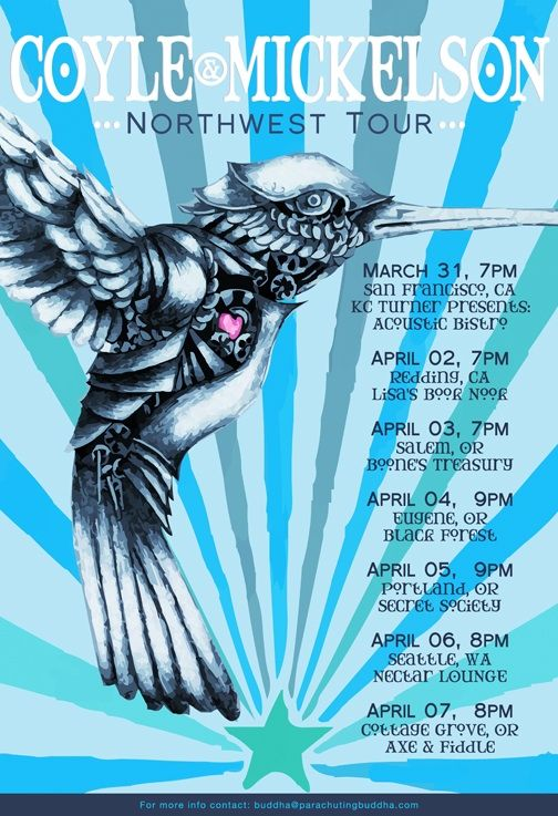 Official Tour Poster