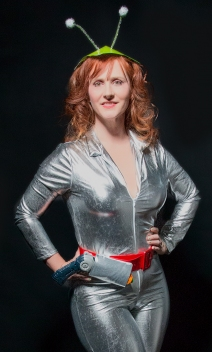 Angi Fox as Tamara Tomorrow (Photo by Mike Fox Photography)