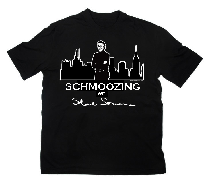 schmoozing sports t shirts black