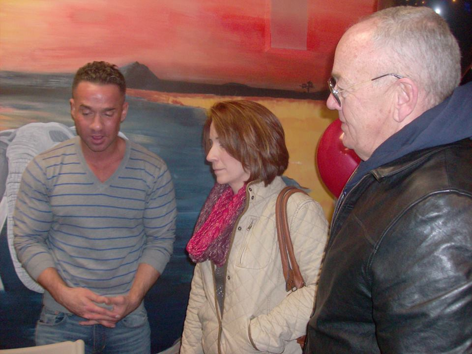 "Owner's Susan & Stan Hordych Meet Mike ""The Situation"" Sorrentino"
