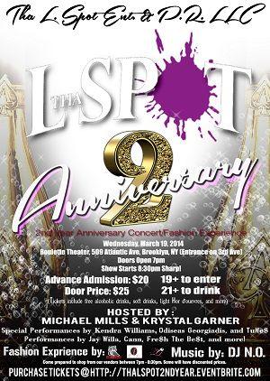 Tha L. Spot 2nd Year Anniversary