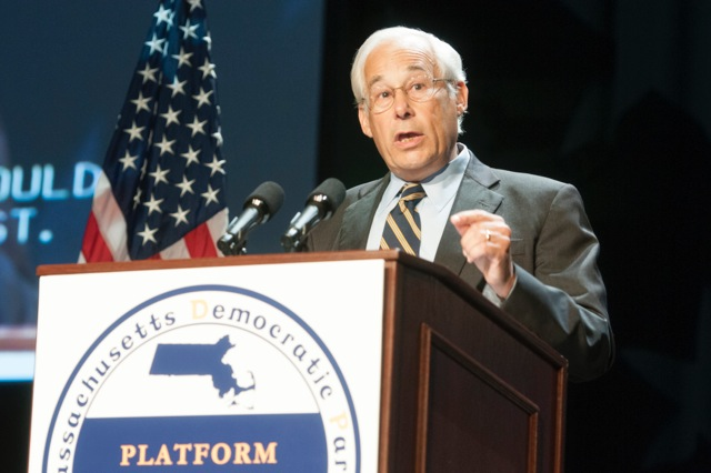 Don Berwick (D), candidate for Governor of Massachusetts