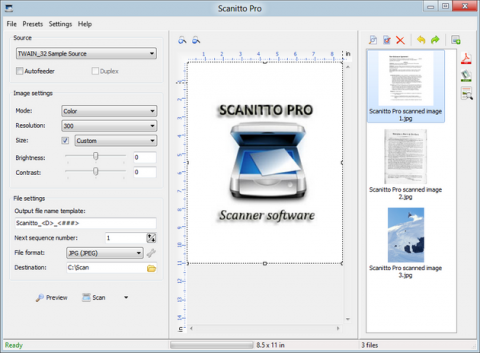 Scanitto 3.0