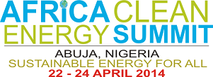 Africa Clean Energy Summit;  ACES 2014
