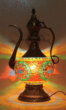 Turkish mosaic table lamps and lanterns indian shaily crafts prlog mosaic table lamps aloadofball Images