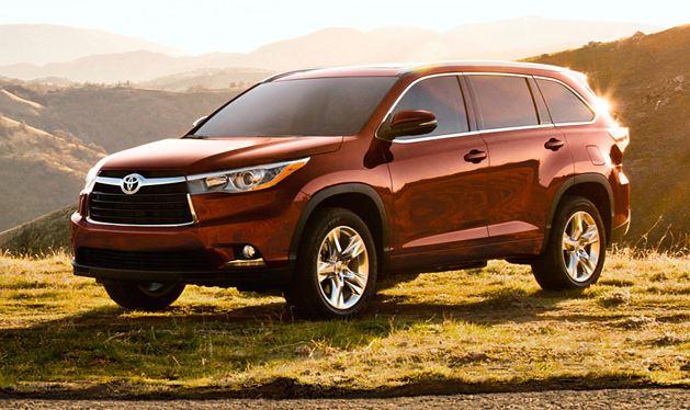 The 2014 Toyota Highlander Tops Kelley Blue Book's List of 10 Best
