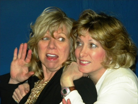 Angela K. Forbes & Teresa Myers in STEEL MAGNOLIAS
