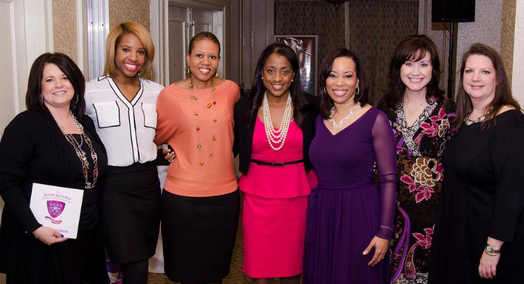 Sonia with Rosilyn E. Houston and BBVA Compass Mentors