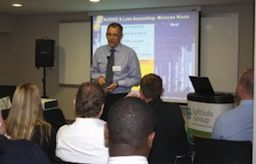 Andrew Fraser presenting at last year's event