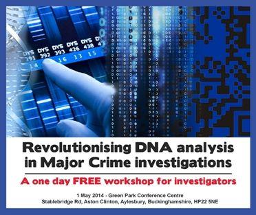 DNA Workshop - 1 May 2014