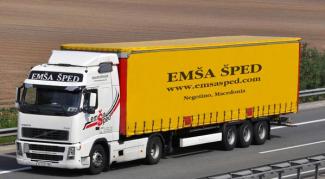 EMŠA Šped truck