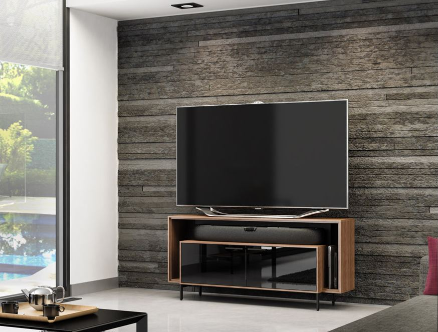 BDI Cavo 8168 Walnut TV Cabinet