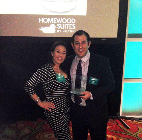 Homewood Suites Awards Night in Orlando, FL