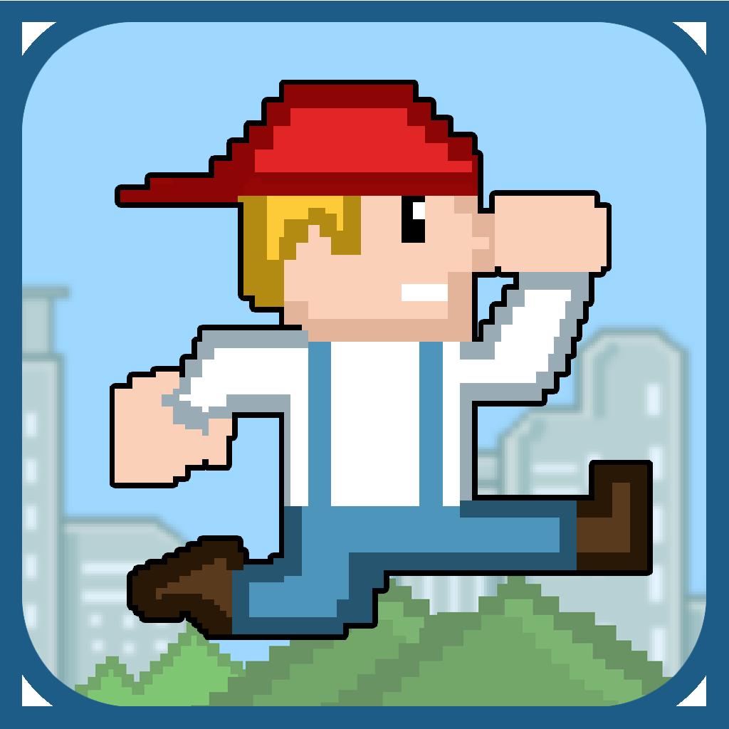 Jumpy Joe, on iOS app store and Google Play Store