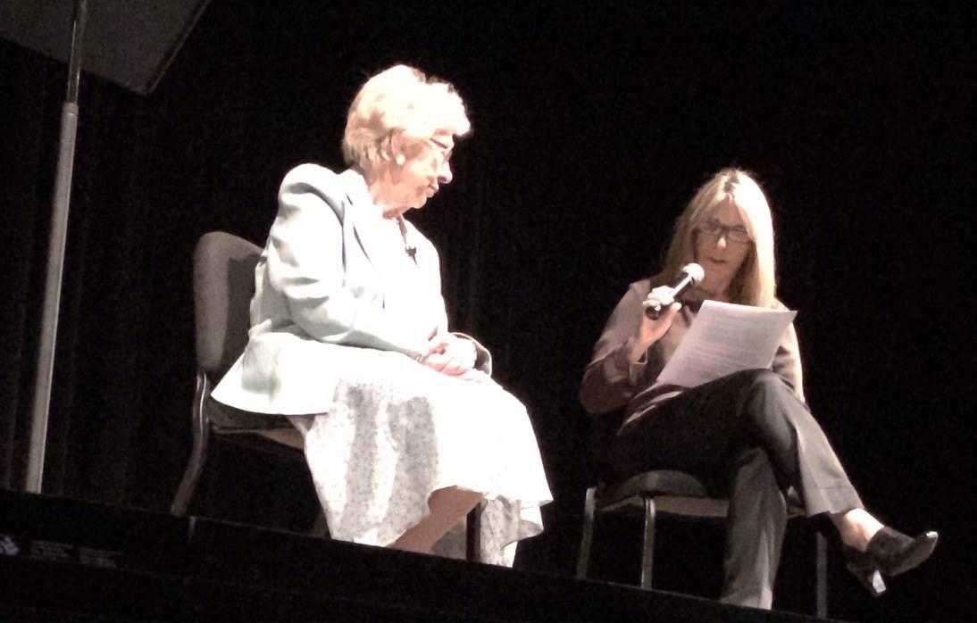 Eva Schloss Shares Her Story In Sarasota FL