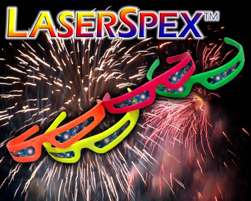 Rave Glasses from Rainbow Symphony Store