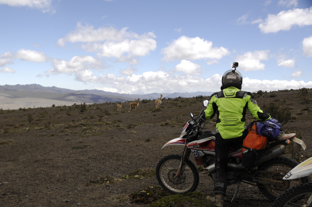 Riders will experience the beauty of Ecuador's protected wildlife areas
