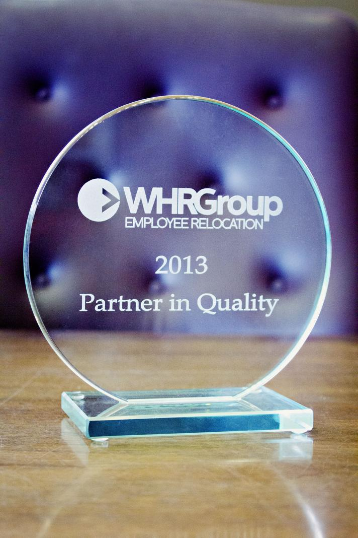 WHRGroup Employee Relocation Award. Photo by: Angel Batterson