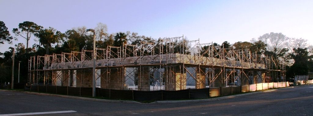 Construction begins on the Florida Hospital Centra Care location in Port Orange.