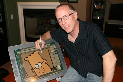 Dilbert Creator Scott Adams