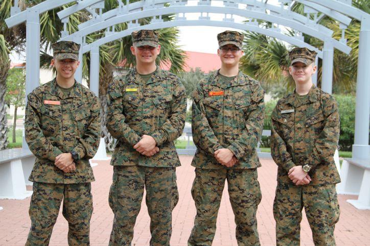 Marine Military Academy MSBA Honor Band Members