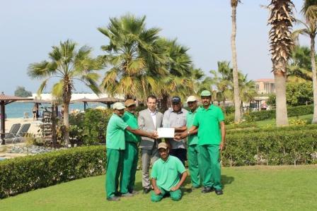 Best Garden in Sharjah Award by Sharjah Muncipalit
