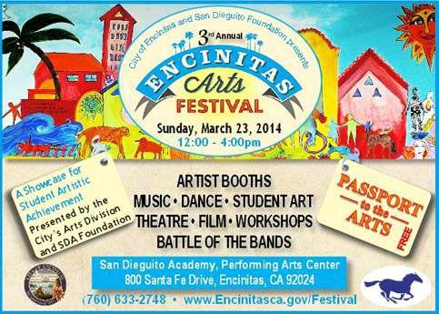 3rd Annual Encinitas Arts Festival