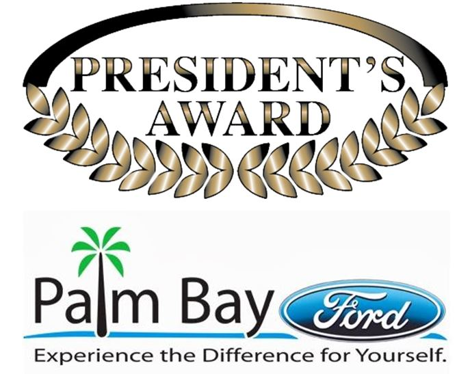Superior service and customer satisfaction earn palm bay for Ford motor company awards
