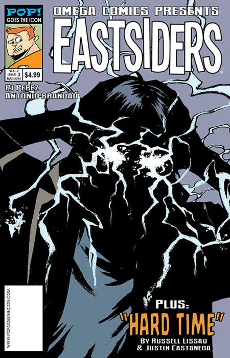 Omega Comics Presents cover