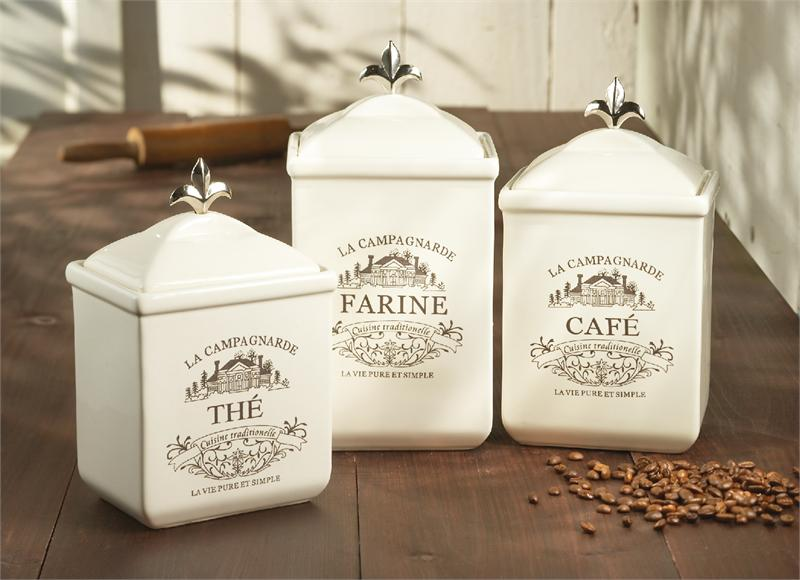 classic hostess retailer of tabletop accessories debuts large kitchen ceramic canisters set cookie jar coffee