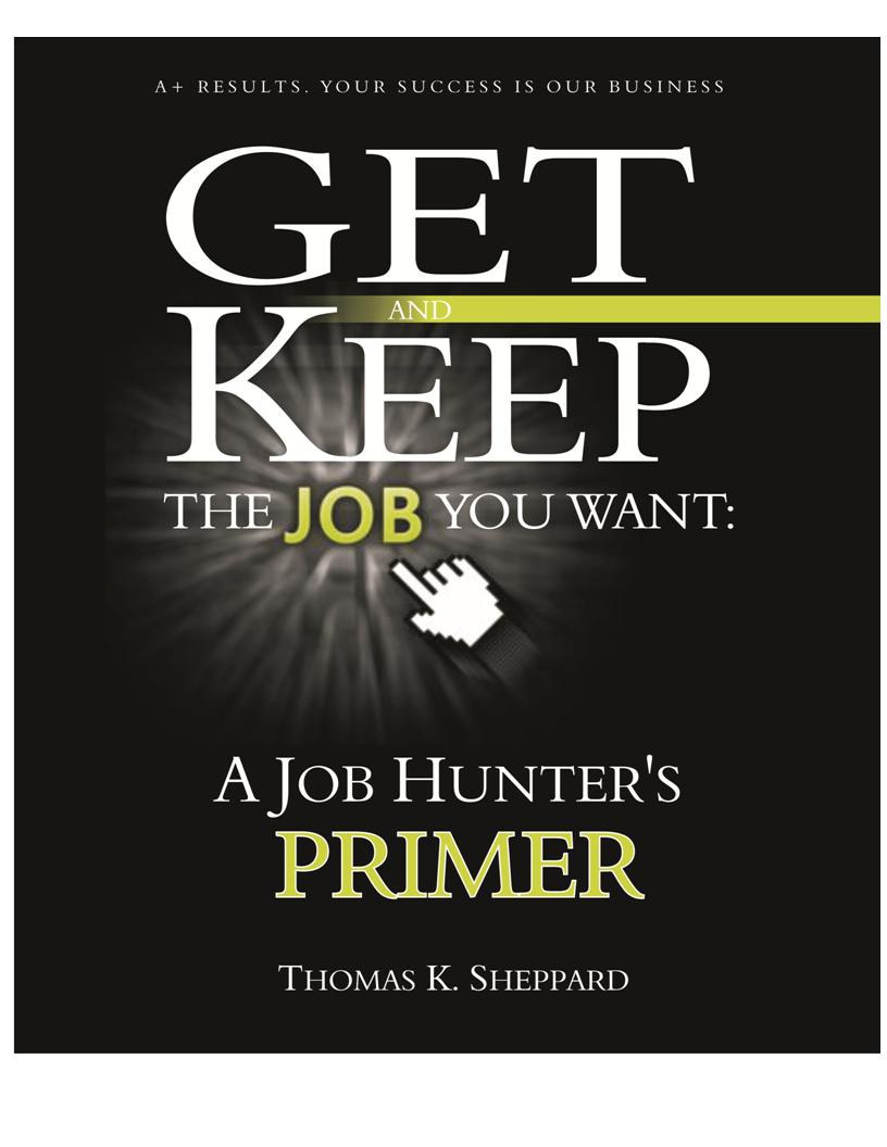 Get and keep the job you want with Tom Sheppard