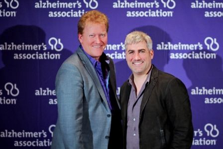 AAOC CEO Jim McAleer with American Idol Taylor Hicks