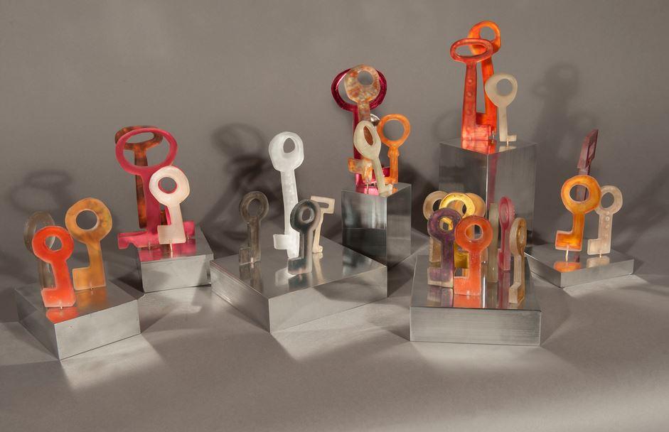 Key Stroma Sculpture by Kelly Milukas