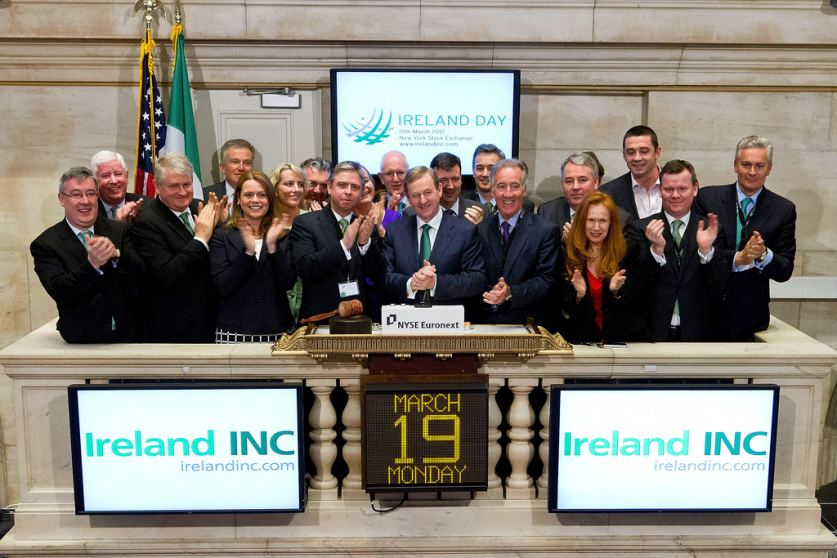 Ireland Day New York returns to NYSE, Fri., Mar. 14, 2014