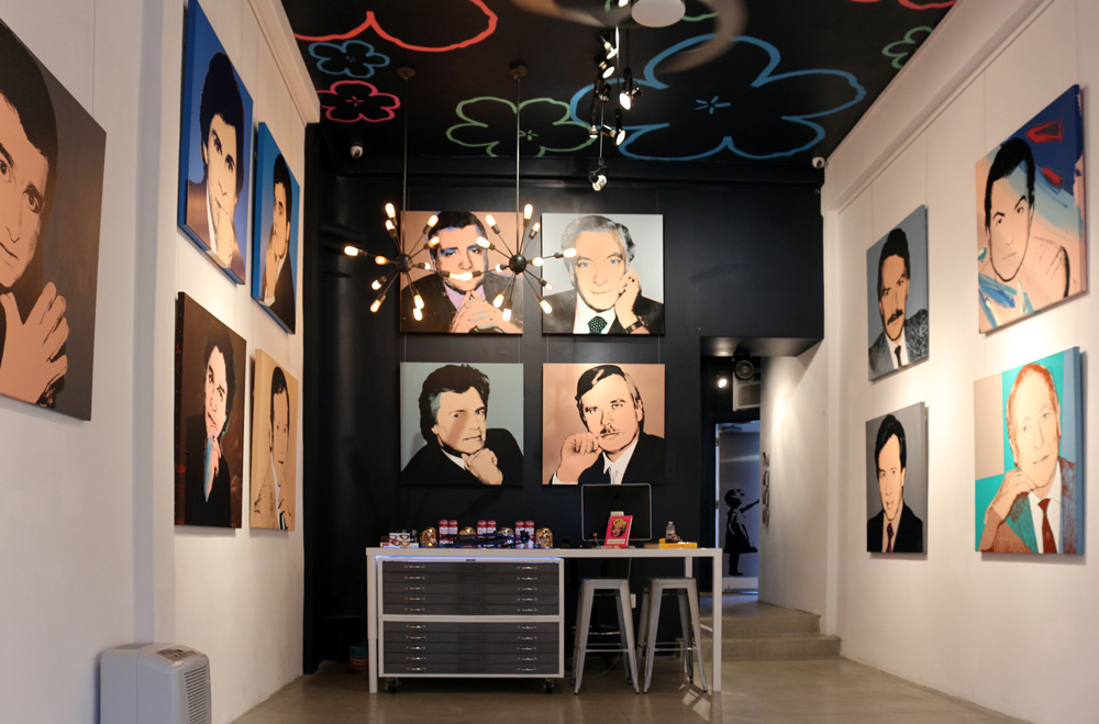 Revolver Gallery, 'Andy's Socialites' Installation