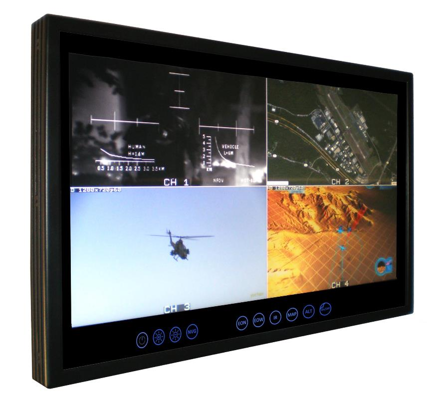 "17.3"" Rugged Multifunction Display"