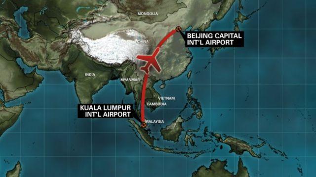 Malaysia Airline Flight 370