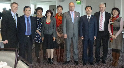 Elite Ayrshire Business Circle welcomes Chinese delegation to Turnberry meeting