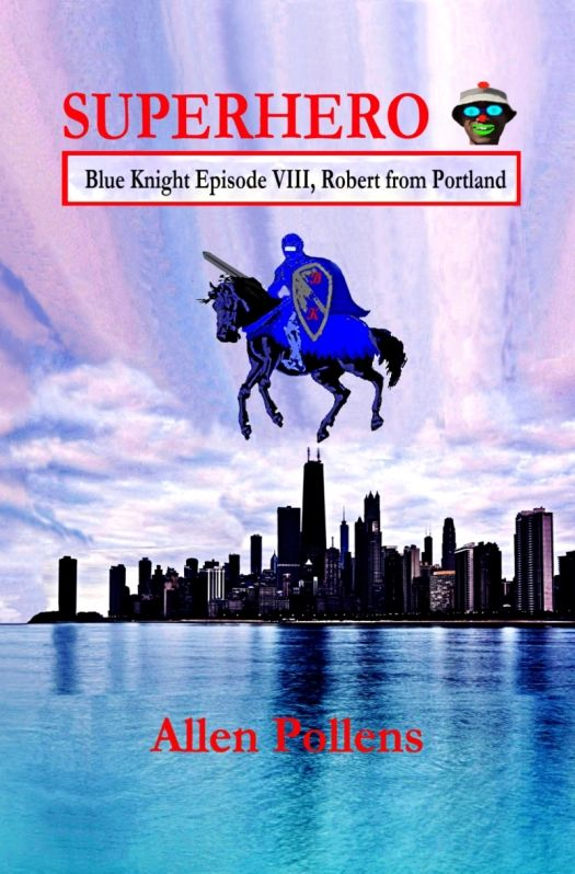 Superhero Blue Knight Episode VIII Front Cover 5D