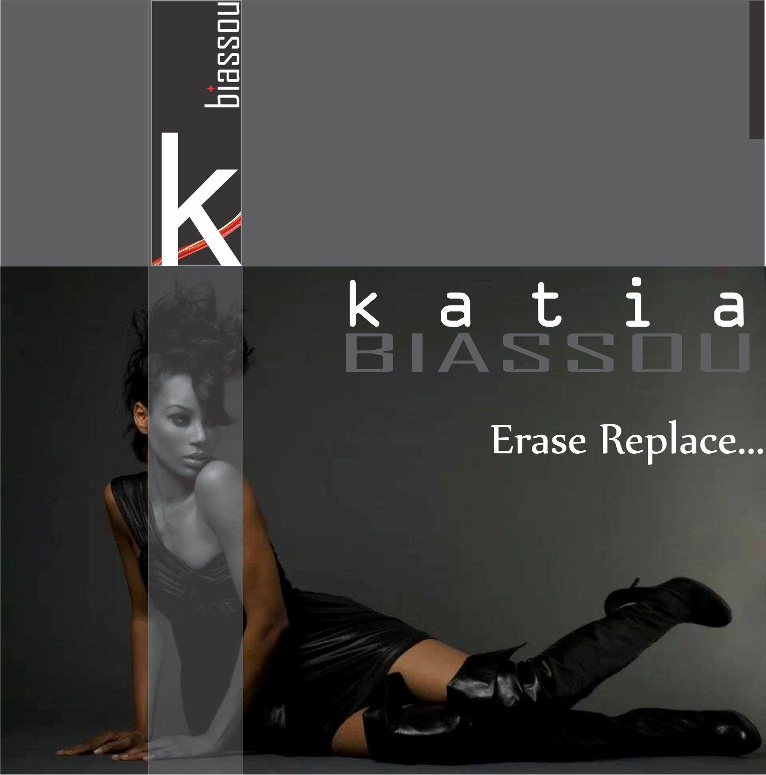 "Katia ""Erase Replace..."" Back Cover"